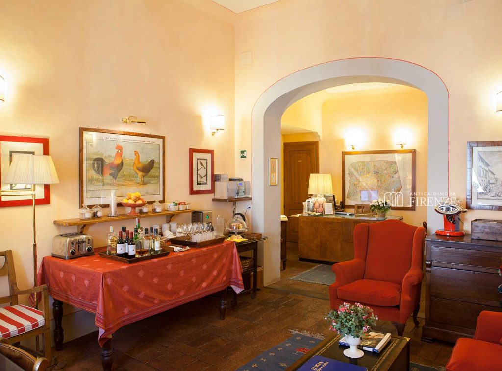 Living Room Antica Dimora Firenze