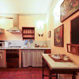 Antiche Dimore Fiorentine Appartamento via Tornabuoni Cucina